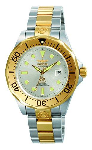 Invicta 3050 Pro Diver Reloj para Hombre acero inoxidable Automático Esfera plata
