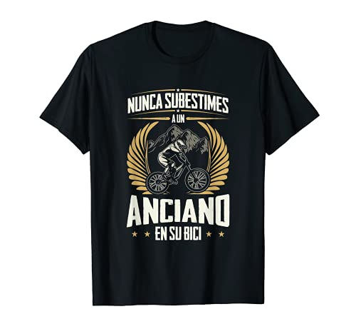 Camiseta ciclistas montaña hombres regalos ciclistas bici Camiseta