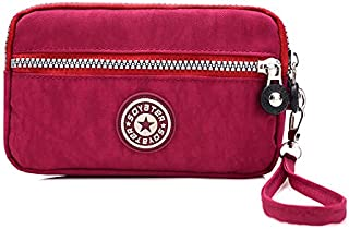 Nylon cloth ladies chain coin purse cosmetic bag mobile phone bag portable handmade wallet