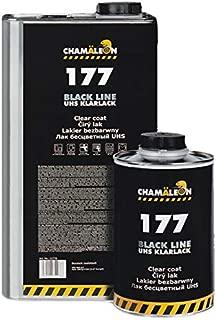 Barniz Camaleón UHS 5L Resistente a los arañazos. Black Line 2K acrílico 2: 1Barniz + Endurecedor Standart 2,5L Coche