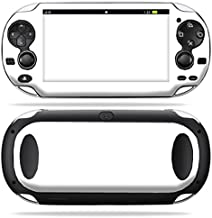 MightySkins Skin Compatible with PS Vita PSVITA Playstation Vita Portable wrap Sticker Skins Solid White