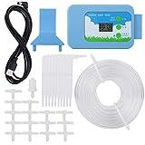 TOPINCN Timer Rubinetto Kit di Controllo dell'Irrigazione LCD Sistema Automatico di Irrigazione a Goccia Sistema di Irrigazione per Giardino Domestico