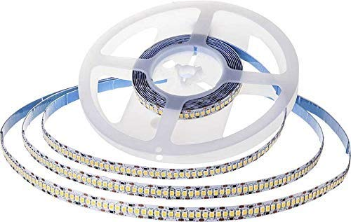 Striscia LED Chip Samsung Smd2835 24V 10M Bianco Naturale 4000K Ip20 No Wp