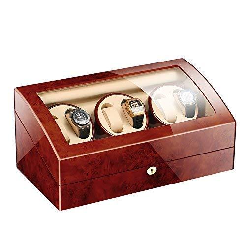 JYTFZD HAOYANG-Scatola dell'orologio- Watch Windrs, Automatic Wood Wood Watches Display Box 6 + 7 Storages, Watch Winder Box for Men, Box per Gioielli da Donna/Scatola per Orologi/HDDSByBQ-1227