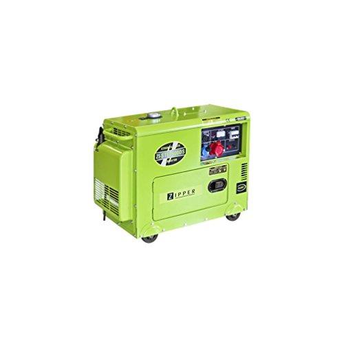 Zipper - Groupe électrogène thermique diesel 7,7 CV - 5700 W ZI-STE7500DS