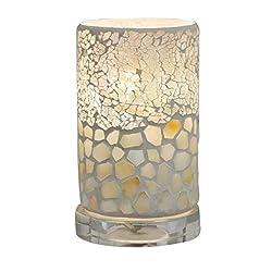 Dale Tiffany TA14185 Alps Accent Lamp, 6.75 High, Earth Tones