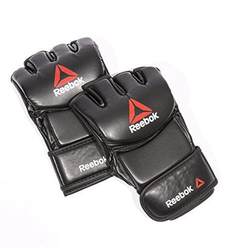 Reebok MMA Guantes de Boxeo, Negro, M