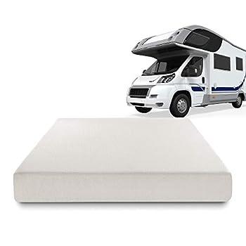 Zinus Deluxe Memory Foam 8 Inch RV / Camper / Trailer / Truck Mattress Short Queen