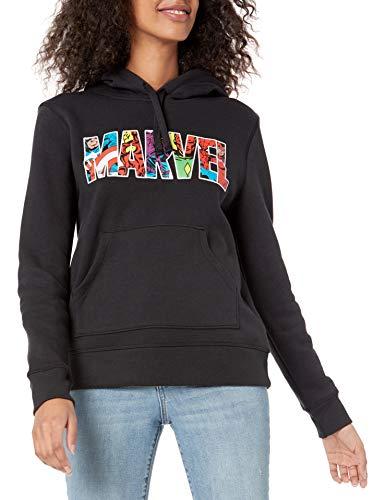 Amazon Essentials Disney Star Wars Fleece Pullover Sweatshirt Hoodies Fashion, Marvel Character Logo, 42-44