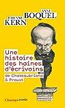 Une histoire des haines d'écrivains par Boquel