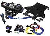 KFI Combo Kit - A3000 3000 lb Winch & 100585 Winch Mount fits 2009-2014 Honda TRX500 Rubicon (FA/FGA/FPA/PG)