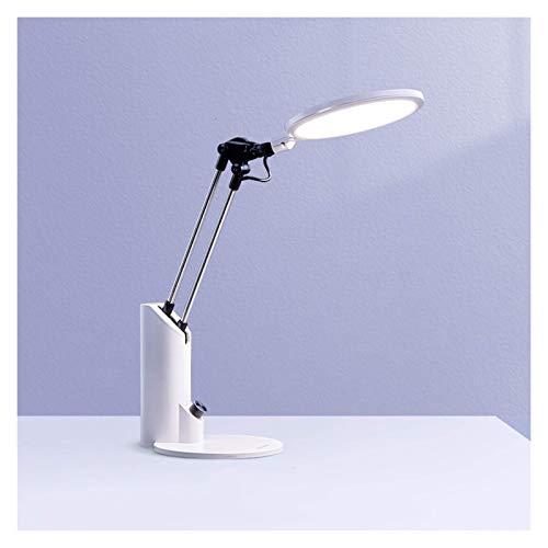 Elegante Lámpara de escritorio con 3 modos de iluminación Lámpara de oficina regulable Lámpara de estudio flexible para el hogar de la universidad del hogar, protección para los ojos, atenuación del c
