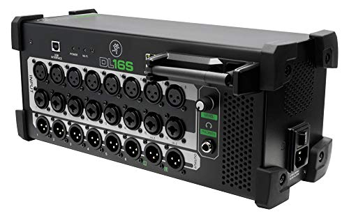 Mackie DL16S (16-Kanal Live-Digitalmischpult mit WiFi für Multi-Plattform-Steuerung)