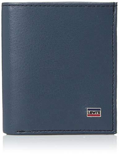 Levi's RFID Slim Card Case Wallet Billetera Tipo Tarjetas para Hombre