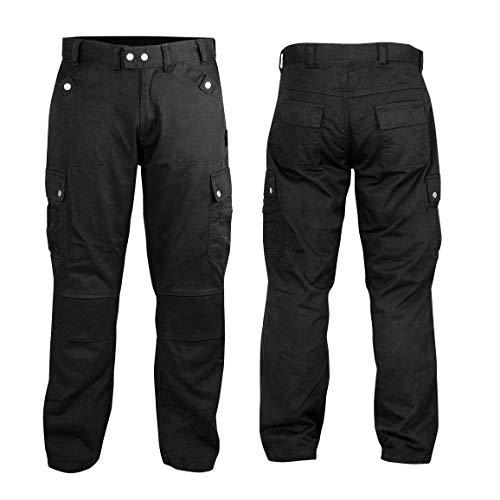 Motorfiets Werkkleding Biker Utility Textiel Broek Broek Waist 28 Zwart