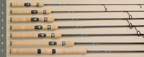 St. Croix Avid Spinning Rods Model: AVS66MHF (6' 6', MH) by St. Croix