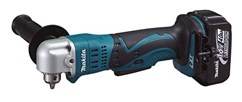 Makita accu-boormachine 18,0 V in MAKPAC met 2 accu's 4,0 Ah + oplader laadapparaat in MAKPAC mit 2x Akku 4,0 Ah zwart, blauw