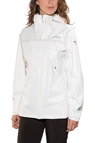 Columbia Outdry Ex Eco S Cortavientos, Mujer, Blanco (White Undyed), S