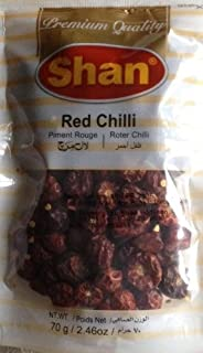 whole red chilli round
