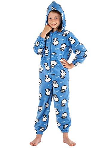 baratos y buenos SaneShoppe – Mono con capucha de vellón para niñas calidad