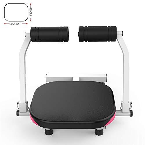 Home Gym Gewichtheben Bank, Muten Bauchtrainer mit Rebound-System mit einstellbarem Widerstand Bauch-Übung Ausrüstung for Männer und Frauen (Color : Black, Size : 56x45cm)