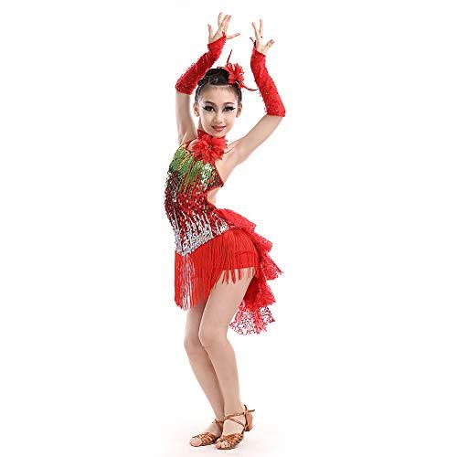 Yudesun Danza Ropa Vestidos Niña - Chicas Lentejuelas