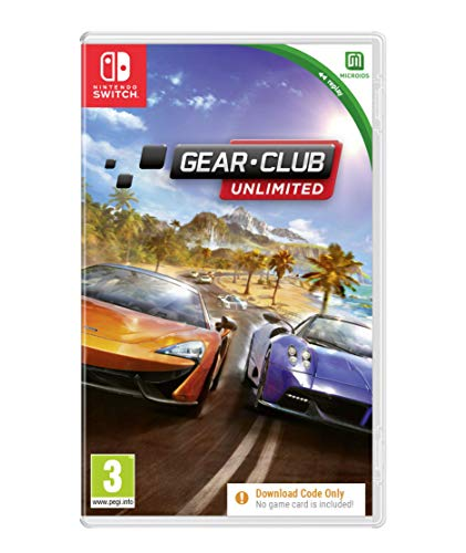 Gear Club Replay (Code in A Box) NSW (Nintendo Switch)