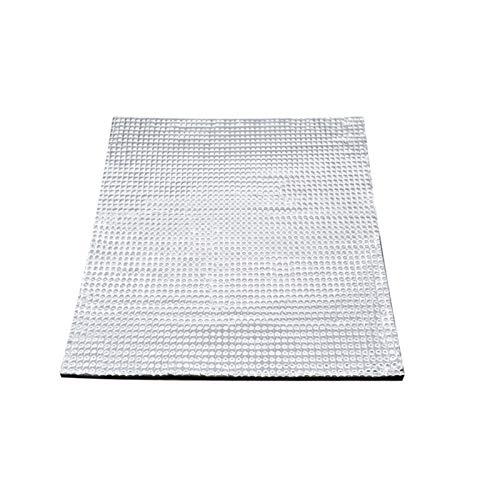 XBaofu 1pcs 3D-Drucker-Teile Wärmeisolierung Cotton220 / 300mm Folie Selbstklebende Isolierung Baumwolle 3D-Drucker Aufheizschüttung Aufkleber (Größe : 220mmx220mm)