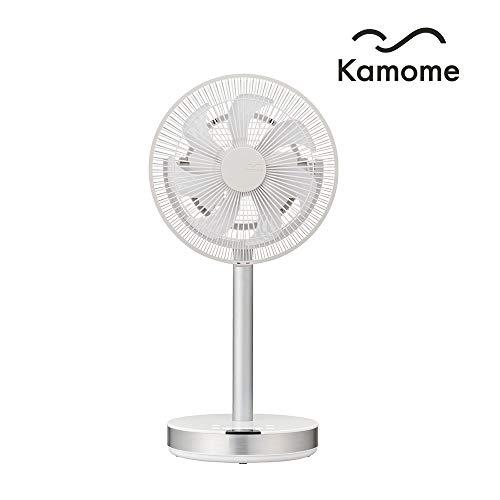 Kamome Office, Standventilator, extrem leise (max. 40 dB), stufenloser Luftstrom bis 17m, horizontal und vertikal, Timer, Abschaltautomatik, Fach für Aroma-Öl, mit Fernbedienung