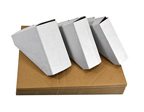Golden State Art, Pack of 100, Adjustable Cardboard Corner Protector for Picture Frame