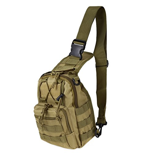 REDGO Shoulder Backpacks Bags, Ultra Durable Lightweight Canvas Unisex Travel Casual Cross Body Bag, Qcute Oxford Fabric, Multipurpose Daypacks for Man Women Girl
