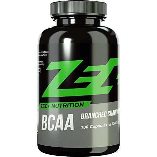 ZEC+ BCAA Kapseln 1000 mg pro Kapsel, 180 Kapseln