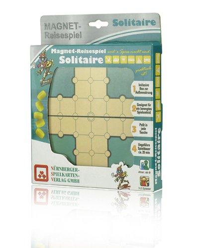 08219905004 - Nürnberger Spielkarten - Magnet-Reisespiel Solitaire