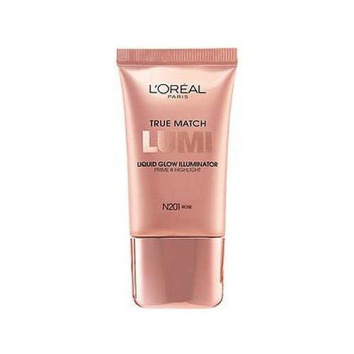 (6 Pack) L'Oreal True Match Lumi Liquid Glow Illuminator - Rose