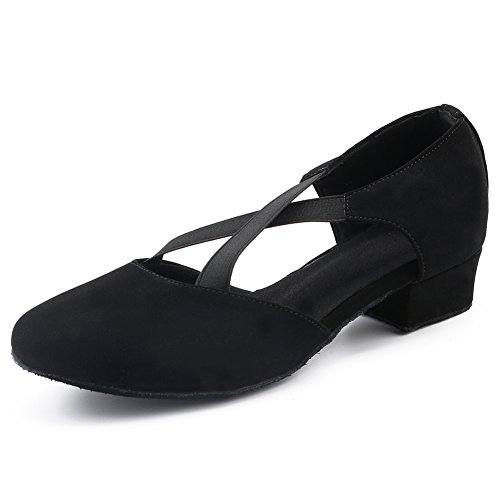 LOVELY BEAUTY Lady's Ballroom Fabric Dance Shoes