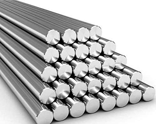 Barra redonda de aluminio 6082 T6 de 25,4 mm de diámetro x 300 mm de largo