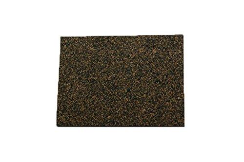 cork raw materials Cork Nature 620180 Superior Sealing Cork Rubber Sheet, 36