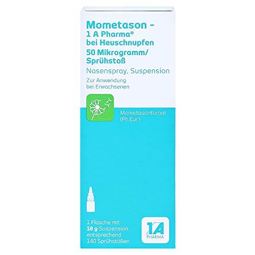 Mometason-1A Pharma bei Heuschnupfen 50µg/Sprühstoß Nasenspray 18 Gramm