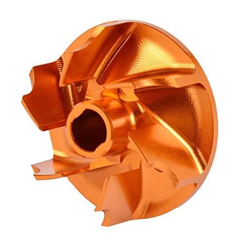 LiMePng Wasserpumpe Laufrad für KT/M SX SXF SX-F XC XCW Excf-EC-F für Husqvarna Te FE TC FC TX 85 125 150 250 300 350 2015-2019 LiMePng (Color : Orange)