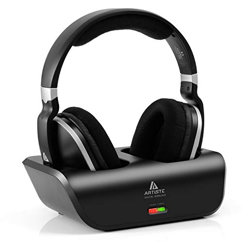 ARTISTE Wireless TV Headphones Over Ear Headsets - Digital Stereo Headsets with 2.4GHz RF...