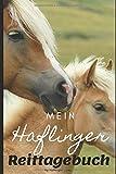 Mein Haflinger Reittagebuch: Das große Haflinger  Reit- und Trainingsbuch zum Eintragen und Ausfüllen