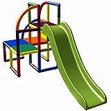 move and stic Olaf Spielturm Kletterturm mit Rutsche für Kleinkinder für Kinderzimmer oder...