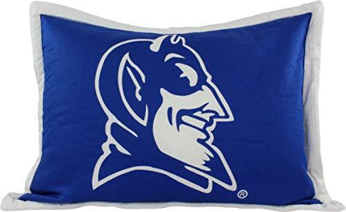 Duke Blue Devils Printed Pillow Sham, Standard Size 20