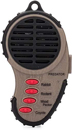 Cass Creek - Mini Predator Call - CC334 - Handheld Electronic Predator Call - Coyote Call Brown, 5.5  x 3.75  x .75
