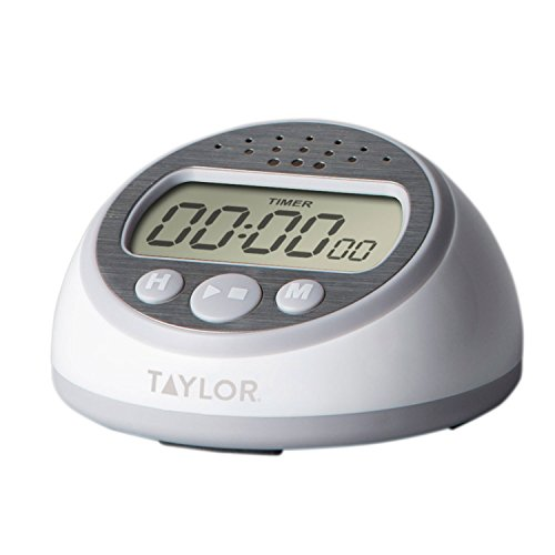 Taylor Precision Products 5873 RA44269 Super Loud Timer, One Size, Gray