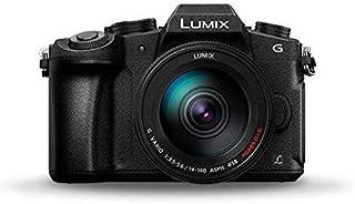 Panasonic Lumix DMC-G80HAEGK DSLM Macchina Fotografica, Sensore MOS 16MP, Modalità 4K, Sistema Dual Image Stabilizer a 5 a...