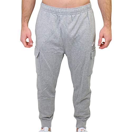 Nike Pantalone tascato Sportswear Club French Terry 063 Grigio, M