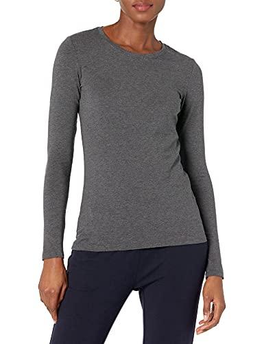 Amazon Essentials Women's Classic-Fit Long-Sleeve Crewneck T-Shirt,...