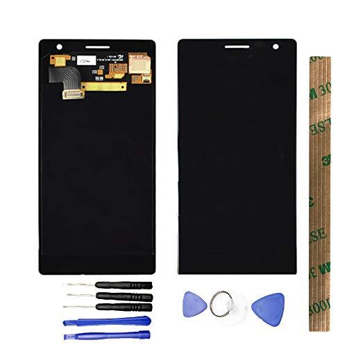 JayTong - visualización LCD y digitalizador de visualización táctil de Repuesto para Nokia Lumia 730 735 Negro