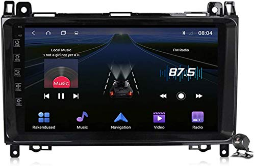 Android 9.1 GPS Navegador Coche para Benz B Class W245 W169 W639 W906 2004-2012 - FM RDS Dab+ Radio del Coche, Conexión a Internet, Soporte DSP DVR/Llamadas Manos Libres